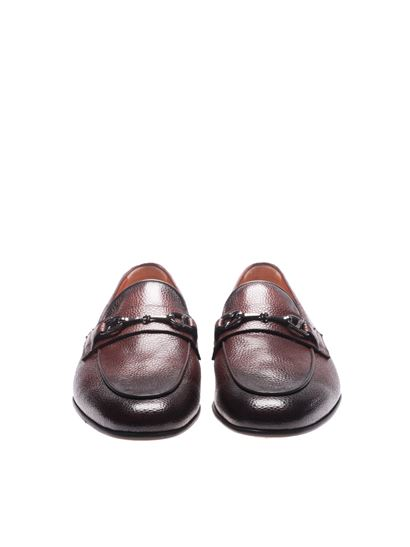 Loafers with metal clamp Santoni Cheap Sale Professional Under 70 Dollars Limited New oxX1PWho5