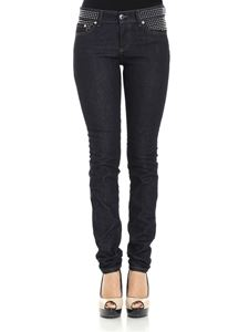 Red Valentino - Dark blue jeans with studs