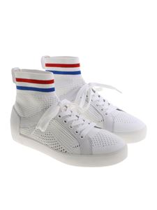 Ash - White Ninja pierced sneakers