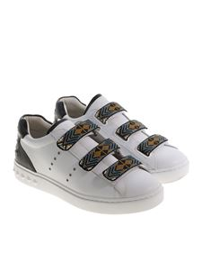Ash - White Pharell sneakers with beads