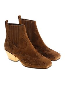 Ash - Brown Texano Ginger Bis Texan boots