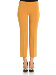 Theory - Ocher-colored Crop trousers