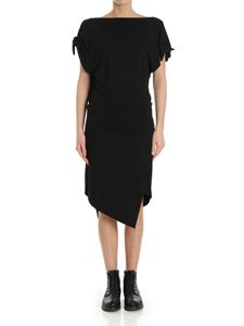 Vivienne Westwood Anglomania - Black Shore dress with asymmetric bottom