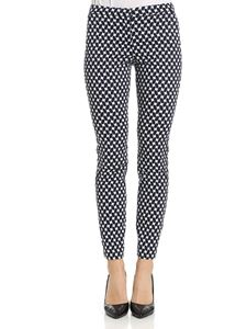 KI6? Who are you? - Blue trousers with geometric pattern