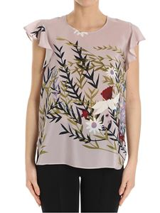 Erika Cavallini Semi-couture - Pamy floral print top