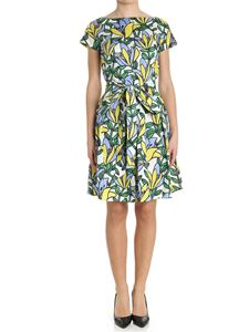 KI6? Who are you? - All-over floral patterned dress