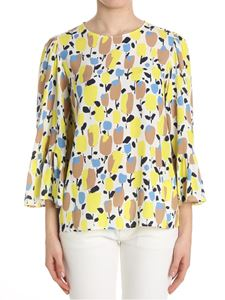 KI6? Who are you? - Floral patterned blouse