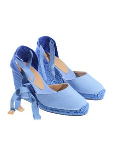 Castaner - Light-blue Carina wedge espadrilles
