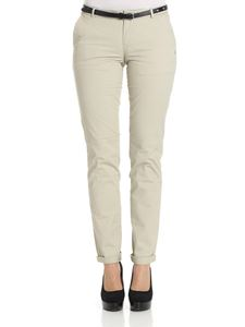 Scotch & Soda - Beige Route22 trousers with belt