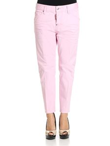 Dsquared2 - Pink Cool Girl cotton jeans