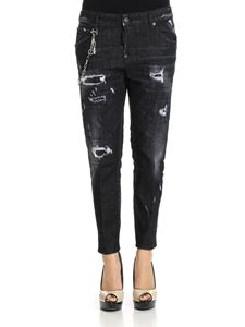Dsquared2 - Black Cool Girl cotton jeans