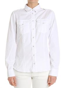 Eleventy - White shirt with frog buttons