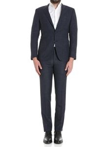 Canali - Black and blue Key suit