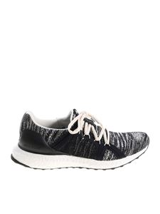 Adidas by Stella McCartney - White and black Ultraboost Parley sneakers