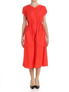 Sofie D'Hoore - Red dress with drawstring