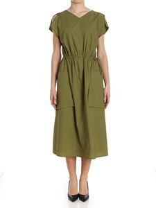 Sofie D'Hoore - Green dress with drawstring