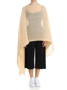 PLEATS PLEASE Issey Miyake - Pink Colorful Madame-T cape