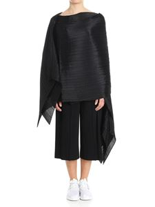 PLEATS PLEASE Issey Miyake - Black Colorful Madame-T pleated cape