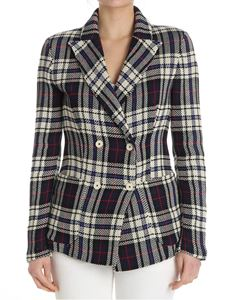 Barena - Double-breasted check jacket