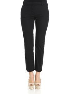 True Royal - Black Ross flared trousers