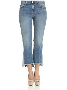 J Brand - Blue Aubrie flared jeans