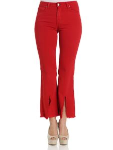 Federica Tosi - Red flared jeans
