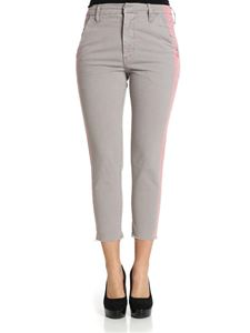 MOTHER - Gray The Shaker trousers with side bands